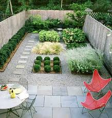Dise o dise o polivalente for Grassless garden designs