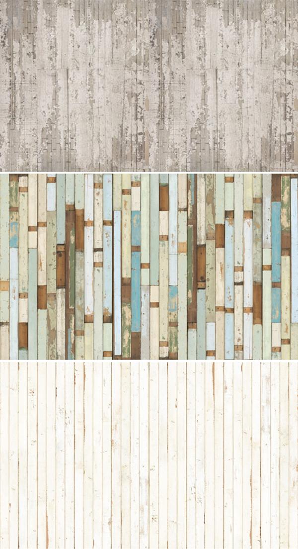 Madera reciclada en casa dise o polivalente for Papel mural tipo madera